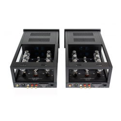 Her ser du M600 - 300B Mono Black Power Amplifiers (300B tubes not inc.) pair fra Canary Audio