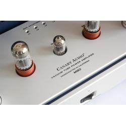 Her ser du M90 - 300B Push-Pull Stereo Power Amplifier (300B tubes not inc.) fra Canary Audio
